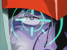 "alba47star: "" gslchar: "" Here, have some BluRay #Gundam remastered Char gifs because monday sucks! "" """