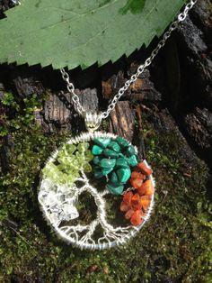 Four Season Tree Of Life Silver Pendant Beadalon by Just4FunDesign