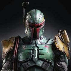 Boba Fett redesign.  F'ing amazing!  Love it!