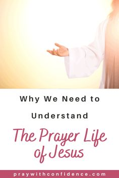 How can the prayer life of Jesus help us learn how to pray? If you are learning how to pray for beginners or a long life prayer warrior, knowing how Jesus prayed can help us build our prayer life. Bible Verses About Prayer, Bible Truth, Scripture Study, Prayer Quotes, Scriptures, Prayers For Hope, Prayers For Strength, Prayers For Healing, Prayer For Peace