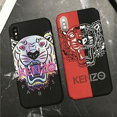 ケンゾー iPhoneX/8/8plusケース タイガー カッコイイ おしゃれ スプライス 個性的 Kenzo, Phone Cases, Pastel, Pai, Noel, Cake, Crayon Art, Melting Crayons, Phone Case