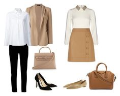"""""""Work outfits in under 5 minutes"""" by esppam on Polyvore featuring Theory, Boohoo, Alexander Wang, Misha Nonoo, Alice + Olivia, Hobbs, Jimmy Choo and Givenchy"""