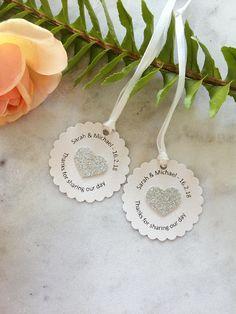 20 Wedding Tags/ Custom wedding Tags/ Elegant Wedding favor