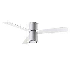 Ventilador de techo LAMPSELF CARPI GRIS - Leroy Merlin
