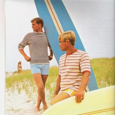 Vintage Mad Men Knitting Patterns 1960s Beach Boys by Revvie1, $8.00