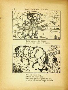 Mother Goose's nursery rhymes  Sir John Gilbert, R.A. ~ John Tenniel ~ Harrison Weir ~ Walter Crane