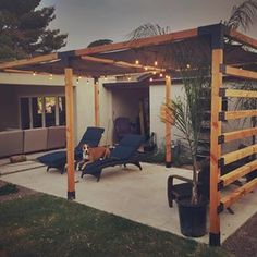 There are lots of pergola designs for you to choose from. You can choose the design based on various factors. First of all you have to decide where you are going to have your pergola and how much shade you want. Small Pergola, Cheap Pergola, Wooden Pergola, Outdoor Pergola, Backyard Pergola, Pergola Plans, Backyard Landscaping, Pergola Ideas, Small Patio