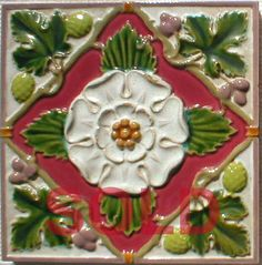 West Side Art Tiles -4498n318p0 - English Tile>