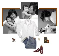 """Lee Byung-Hun: Father"" by class-in-the-corner-office ❤ liked on Polyvore featuring Michael Kors, Paige Denim and Tom Ford"
