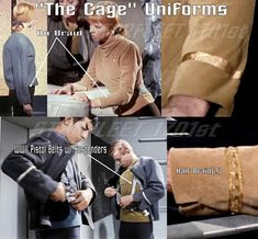 "The Cage"" Uniform Study in TOS PILOTS (The Cage & WNMHGB) Forum"