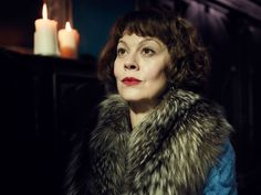 Sitting in the bar at London's Soho Hotel, casually-dressed with steaming mug of coffee in hand, Helen McCrory looks every bit the down-to-earth mother-of-two and nothing like her intimidating Peaky Blinders matriarch, Polly.