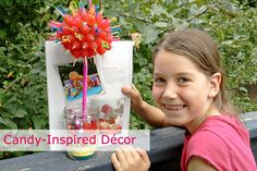We love to inspire our readers and their families! Check out this candy topiary made by a Jr. Our Homes Magazine reader. Thanks for sharing! Get the article in Our Homes Grey Bruce's latest edition!