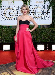 Golden Globe Awards 2014 - Taylor Swift en Carolina Herrera