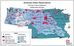 High-TEK Tribal Map: The Corps of Engineers Northwestern Division includes over 100 federally-recognized Indian tribes.