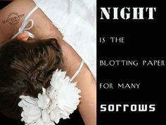 Night Is The Blotting Paper