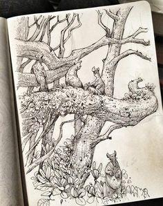 Resultado de imagem para ian mcque books pdfa book of drawings Ink Art, Pen Illustration, Sketch Book, Drawings, Ink Pen Drawings, Illustration Art, Art, Sketchbook Journaling, Ink Illustrations