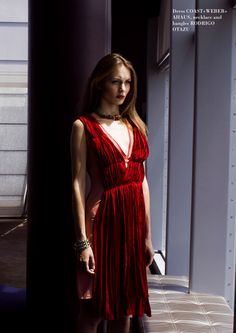 #fashion #photographer #red #dress #beautiful #klaudiakuzmier
