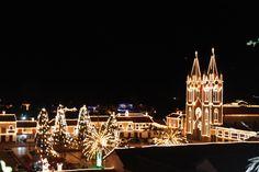 En Corrales también se vive el espíritu navideño.