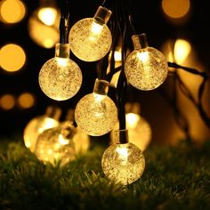 Wedding Multi Colour 23ft 8 Modes 50 LED Blossom Solar Powered Fairy Lights Waterproof Outdoor Flower String Lights for Patio Tree Party Decorations Home Solar Strings Lights Garden Lawn Yard