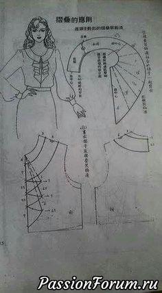 Идеи нарядов с выкройками. - запись пользователя Olga202202 в сообществе Прочие виды рукоделия в категории Шитье