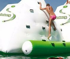 Water rock climbing inflatable toy water park playing in summer size M water iceberg – Hot Products Water Trampoline, Pool Water, Lb Logo, Slide The City, Inflatable Bouncers, Toys For Tots, Water Balloons, Water Toys, Water Slides