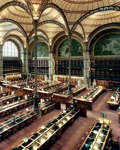 National Library of France, in Paris