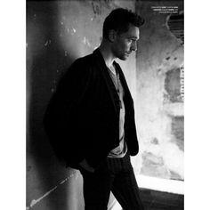Tom Hiddleston Talks Activism New Photo Shoot ❤ liked on Polyvore featuring tom hiddleston, people, avengers, guys and loki