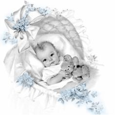 44 Awesome vintage baby boy clipart