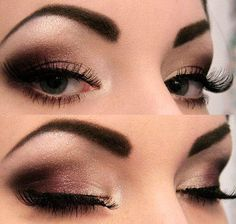 love the colors. if you have any of the naked pallets from urban decay, you could totally pull this look off.