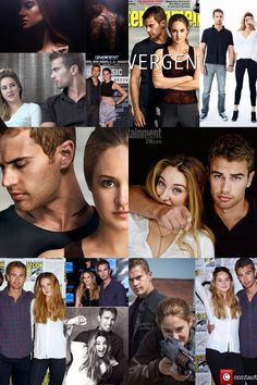 Four and Tris in real life~ AWWW!!! #shaineo  #fourtris @gabrielle Holloman  shaineo<3