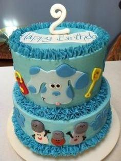 Blues Clues By SweetShari112 on CakeCentral.com