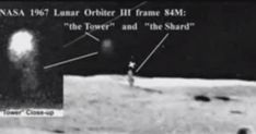 The early NASA space scouting missions to find a suitable landing spot gave us much more than we he human race bargained for. Alien tower the Shard. Ancient Aliens, Ancient History, Life On The Moon, Aliens On The Moon, Dark Side Of Moon, Alien Proof, Surveillance Drones, Alien Artifacts