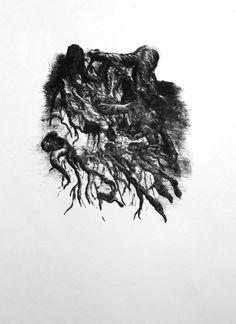 Lothograph of tree roots   Artist: Jennifer Padgett