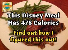 Counting Calories or Carbs? Nutritional Information Appearing on DisneyWorld.com Menus! | PassPorter Blogs