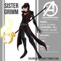 Supreme Young Avengers: Nico Minoru AKA Sister Grimm