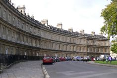 The Circus, Bath, England. #wavingonline www.wavingonline.com/articles/personal-reflections/photographic-memories---a-commentary-on-my-favorite-snapshots