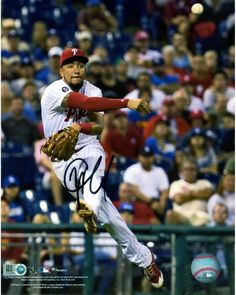 342af64007081c JP Crawford Philadelphia Phillies Autographed 8