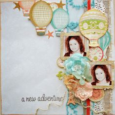 Marilyn Rivera - I made this page with the gorgeous November Limited Edition kit by My Creative Scrapbook. For more details go...http://marilynrivera.blogspot.com/