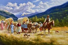 Internationally acclaimed figurative artist known for his realistic, traditional representational style. Cowboy Pictures, Cowboy Pics, Kinkade Paintings, Lds Art, American Frontier, Western Art, Western Cowboy, Native American History, American Indians