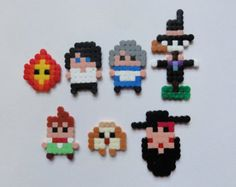 perler beads howl's moving castle - Google Search