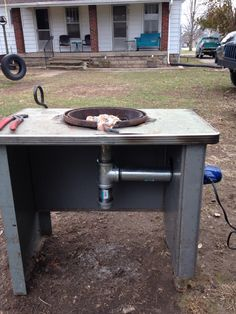 My new brake drum forge