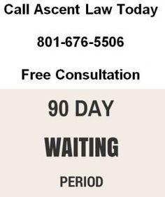 90 Day Waiting Period for Divorce in Utah