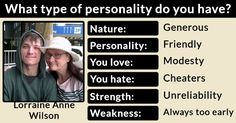 What type of personality do you have?