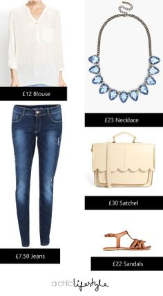A Chic Lifestyle - Mentoring Students to Think & Achieve BIG: 3 Off-Duty Outfit Ideas on a £30 Budget