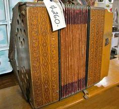 Antique accordion