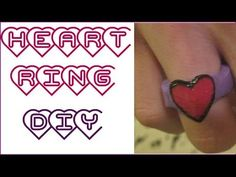 DIY Wood Heart Ring!  Easy to do Wood Heart Ring making with a dremel  wood burner.With a Mod Podge  Polycrylic finish for a comfortable fit like any other ring!. Do it yourself don't pay OVER PRICED ETSY SHOP PEOPLE. If you need more help I have audio voice over versions of a Diamond ring one and Tri force Rings