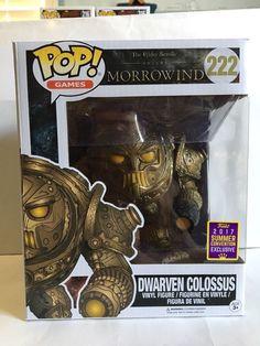 Funko POP! Elder Scrolls Morrowind DWARVEN COLOSSUS 2017 Summer Convention New | eBay