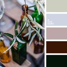 бордовый, малахитовый цвет, нежный оливковый, оливковый, осенние оттенки, оттенки бутылочного цвета, подбор цвета в интерьере, пыльный салатовый, светло-оливковый цвет, тёмно-зелёный, цвет бутылочного стекла, цвет стекла бутылок, цвета