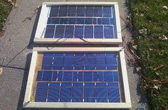 Como produzir electricidade através do sol em casa. how to generate electricity from solar energy at home