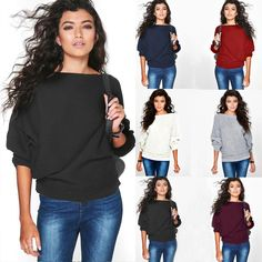 Fashion Womens Casual Long Sleeve Knitted Sweater Jumper Cardigan Tops Knitwear